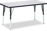 "Jonti-Craft RECTANGLE-30x60"" RidgeLine™  KYDZ Activity Table"