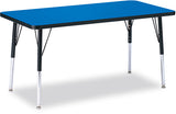 "Jonti-Craft RECTANGLE-24x48"" RidgeLine™  KYDZ Activity Table"