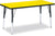 "Jonti-Craft Rectangle-30x72"" RidgeLine™  KYDZ Activity Table - Honor Roll Childcare Supply"