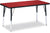 "Jonti-Craft RECTANGLE-30x60"" RidgeLine™  KYDZ Activity Table - Honor Roll Childcare Supply"