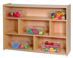 "35"" High Two Shelf Storage - Honor Roll Childcare Supply"