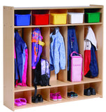 Five Section Locker - RTA - Honor Roll Childcare Supply