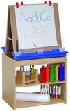 Two Station Art Center Easel - Honor Roll Childcare Supply