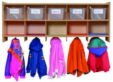 Wall Locker 10 Section - Honor Roll Childcare Supply