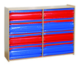 Eight Section Rest Mat Storage Unit - Honor Roll Childcare Supply