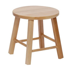 Solid Maple Stools - Honor Roll Childcare Supply