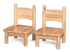 Jonti-Craft® Wooden Chair Pairs - Honor Roll Childcare Supply