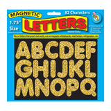 1 3/4IN MAGNETIC LETTERS GOLD - Honor Roll Childcare Supply
