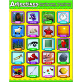 ADJECTIVES PHOTOGRAPHIC CHARTLETS - Honor Roll Childcare Supply