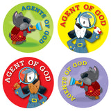 AGENT OF GOD STICKERS