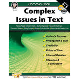 COMMON CORE COMPLEX ISSUES IN TEXT - Honor Roll Childcare Supply