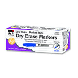 12CT BLUE BULLET TIP DRY ERASE - Honor Roll Childcare Supply