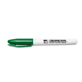 12CT GREEN BULLET TIP DRY ERASE - Honor Roll Childcare Supply