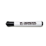 12CT BLACK CHISEL TIP DRY ERASE - Honor Roll Childcare Supply