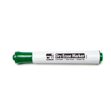 12CT DRY ERASE MARKERS GREEN CHISEL - Honor Roll Childcare Supply