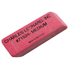 24/BX PINK ECONOMY WEDGE ERASERS - Honor Roll Childcare Supply