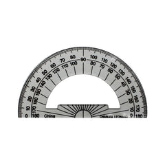 4 INCH PROTRACTOR PLASTIC - Honor Roll Childcare Supply