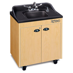 "38"" High Hot Water Portable Sink-ABS Top and Basin - Honor Roll Childcare Supply"