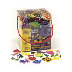 3D FOAM STICKER BOX WHIMSICAL SHAPE - Honor Roll Childcare Supply