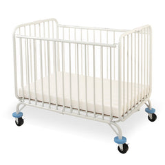 L.A. Baby Deluxe Holiday Mini/Portable Folding Metal Crib - Honor Roll Childcare Supply