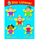 5-STAR LISTENER SMALL CHART - Honor Roll Childcare Supply
