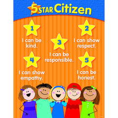 5 STAR CITIZEN CHART GR K-2 - Honor Roll Childcare Supply