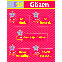 5 STAR CITIZEN CHART GR 3-5 - Honor Roll Childcare Supply