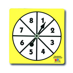 1-8 NUMBER SPINNERS - Honor Roll Childcare Supply