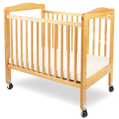L.A. Baby Mini/Portable Non-folding Wooden Window Crib - Honor Roll Childcare Supply