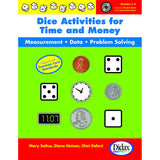 DICE ACTIVITIES FOR TIME & MONEY - Honor Roll Childcare Supply