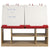 4 Station Art Easel with Storage - Honor Roll Childcare Supply