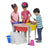 4 Station Round Sand & Water Play Table with Lids - Honor Roll Childcare Supply