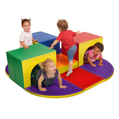 Softzone® Triple Tunnel Maze - Honor Roll Childcare Supply