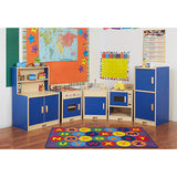 5 Piece Set Colorful Essentials Play Kitchen - Honor Roll Childcare Supply