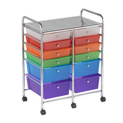 12 Deep Drawers Mobile Organizer - Honor Roll Childcare Supply