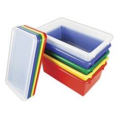 Assorted 12pc Stack & Store w/Lids - Honor Roll Childcare Supply
