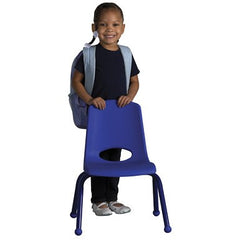"ECR4Kids 6 Pack - 12"" Stack Chair Matching Legs - Honor Roll Childcare Supply"