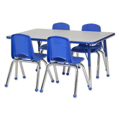"30""x48"" Tbl & 4 16"" Chairs - Honor Roll Childcare Supply"
