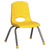 "30""x60"" Tbl & 6 12"" Stack Chairs - Honor Roll Childcare Supply"