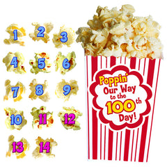 100 DAYS OF POPCORN BB SET - Honor Roll Childcare Supply