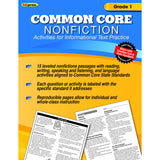 COMMON CORE NONFICTION BOOK GR 1 - Honor Roll Childcare Supply