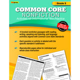 COMMON CORE NONFICTION BOOK GR 5 - Honor Roll Childcare Supply