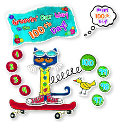 100 GROOVY DAYS OF SCHOOL BBS - Honor Roll Childcare Supply
