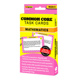 COMMON CORE MATH TASK CARDS GR 6 - Honor Roll Childcare Supply