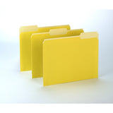 100CT OXFORD YELLOW COLOR TOP FILE - Honor Roll Childcare Supply