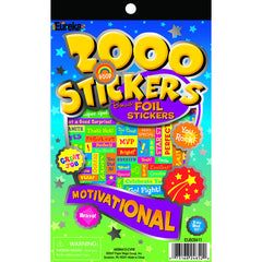 2000 MOTIVATIONAL STICKER BOOK - Honor Roll Childcare Supply