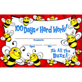 100 DAYS OF HARD WORK BEE - Honor Roll Childcare Supply