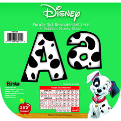 101 DALMATIANS SPOTS DECO LETTERS - Honor Roll Childcare Supply