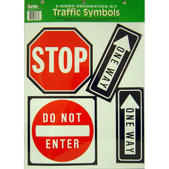 2-SIDED TRAFFIC SYMBOLS - Honor Roll Childcare Supply