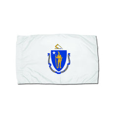 3X5 NYLON MASSACHUSETTS FLAG - Honor Roll Childcare Supply